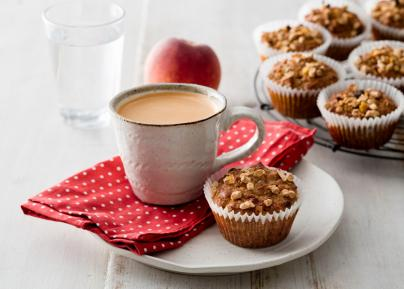 Muffin Makeover: Chia and Walnut Protein Muffins